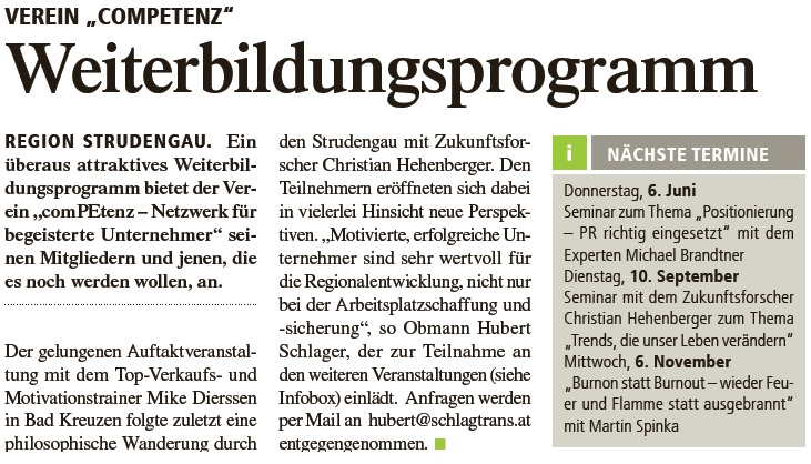 Verein comPEtenz_Weiterbildungsprogramm 15.05.2013